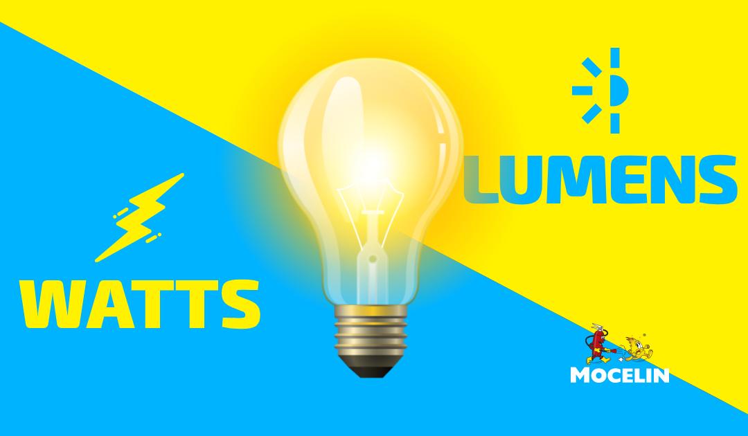 Iluminação de emergência: Qual a diferença de Lúmens e Watts?