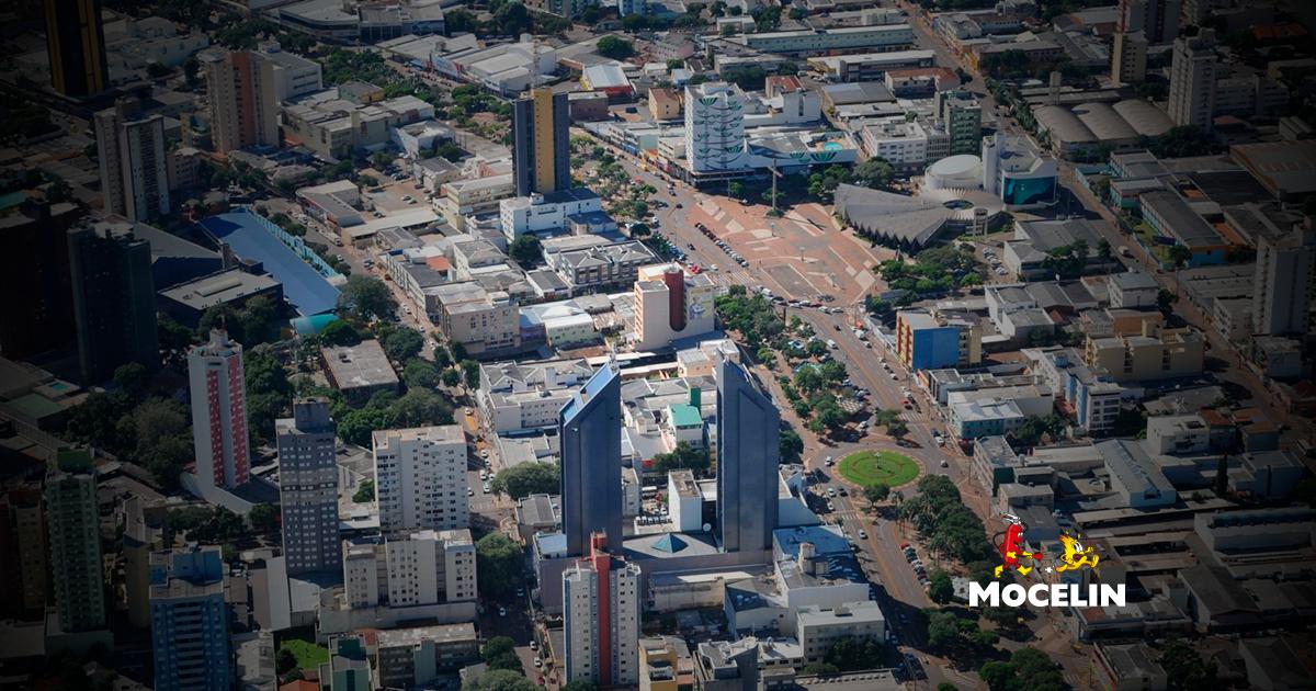 Franquia - a imagem mostra a parte de uma cidade/bairro
