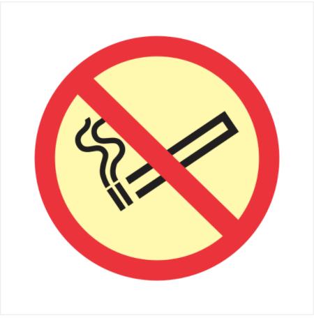 Sinalização de Emergência - Proibido fumar   Mocelin
